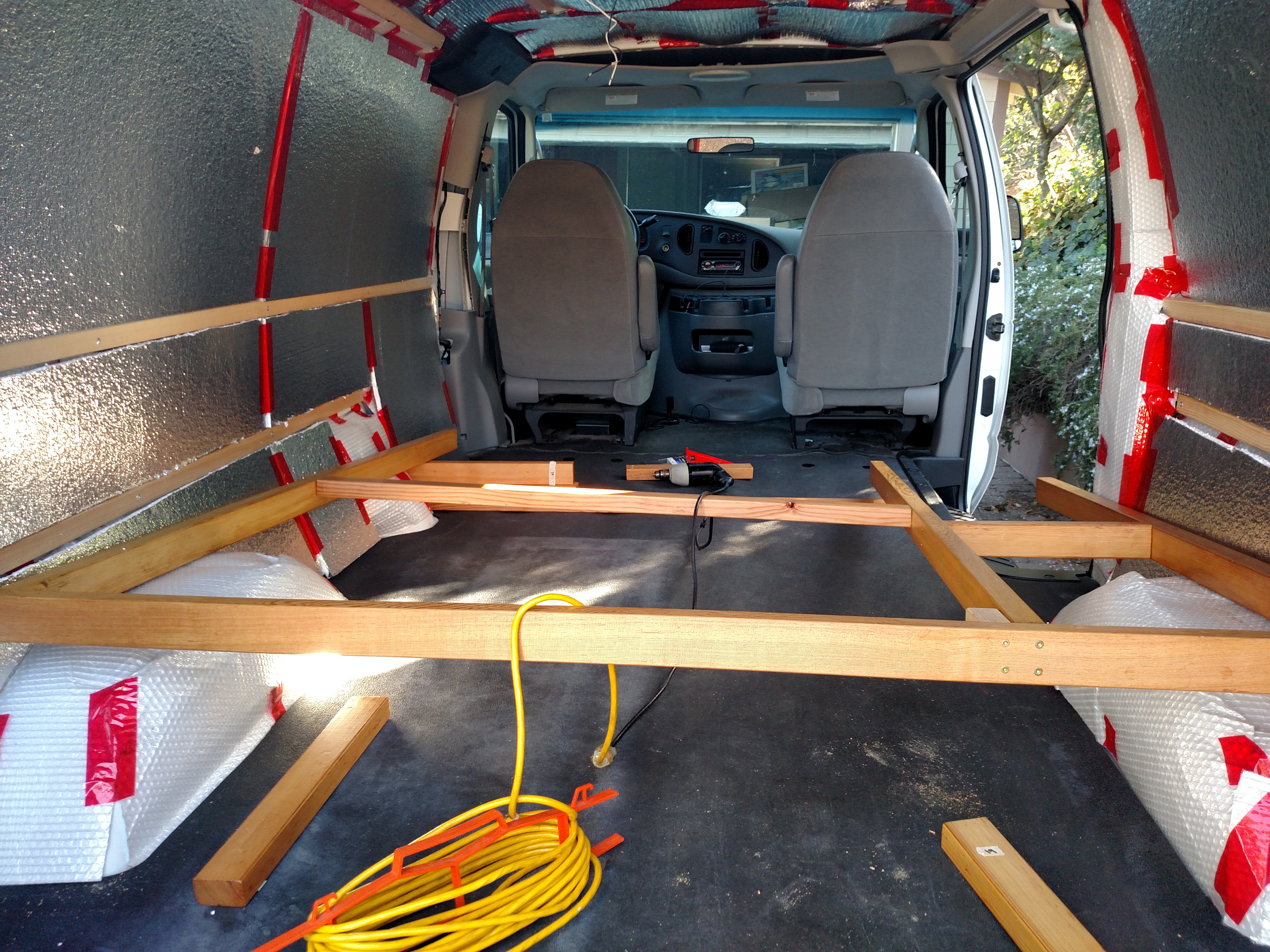 Build Van Shelves, Build… | Wood Project and DIY